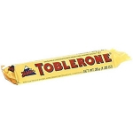 Toblerone Milk Chocolate Bars 1.23 Ounces, (Pack of 24)