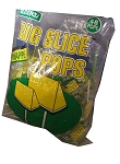 Big Slice Lollipops, Pineapple (Pack of 48)