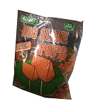 Big Slice Lollipops, Peach (Pack of 48)