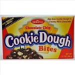 Taste of Nature Chocolate Chip Cookie Dough Bites Movie Theater Concession Boxes, (Pack of 12)