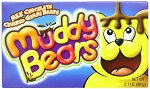 Muddy Bears Candy Movie Size Box, (Pack of 12)