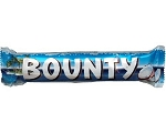 Bounty Milk Chocolate Candy Bar, (Pack of 24)