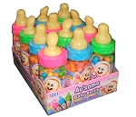Baby Bottle Crunchy Candy Bottles, (12 Pack)