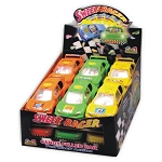 Sweet Racer Novelty Candy Toy, (Pack of 12)