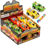Formula 1 Racer Novelty Candy Toy, (Pack of 12)