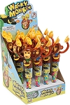 Kidsmania Wacky Monkey Candy Filled Toys, (Pack of 12)
