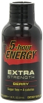 5 Hour Energy Drink Extra Strength Berry Flavor 2 Ounce Bottles, (Pack of 12)
