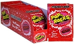 Pop Rocks Cherry Popping Candy, (Pack of 24)