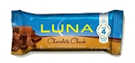 Luna Bar Chocolate Chunk Bars 1.69 Ounce Bars, (Pack of 15)