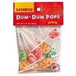 Sathers Dum Dum Pops, (Pack of 12)