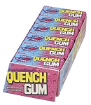 Quench Gum Double Raspberry Gum, (Pack of 10)