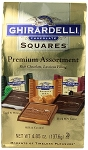 Ghirardelli Premium Assortment Squares 4.85 Ounce Bags, (Pack of 12)