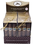 Thompson Milk Chocolate Cigars 3 Packs, (Pack of 12)