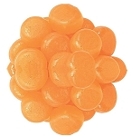 Gimbals Taffy Sugarfree Orange Cream Licorice Chews, 5 Pounds