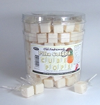 Pina Colada Cube Lollipops, (Pack of 100)