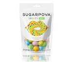 Sugarpova Sporty Mix Tennis Ball Chewing Gum 5 Ounce Bags, (Pack of 20)