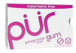 Pur Pomegranate Gum 9 Piece Packs, (Pack of 12)