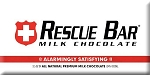 Bloomsberry Rescue Milk Chocolate Bar Chocolate Bar 3.5 Ounce Dark Chocolate Bars, (Pack of 10)