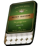 Mint Savor Mojito Flavored Mints 1.05 Ounce Tins, (Pack of 12)