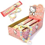Hello Kitty Candy Necklace, (Pack of 12)