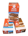 Bear Naked Real Nut Energy Bars Variety Pack, (Pack of 24)