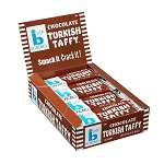 Bonomo Chocolate Taffy, (Pack of 24)