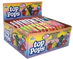 Top Pops Assorted Chewy Taffy Candy, (Pack of 48)