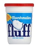 Durkee Mower Marshmallow Fluff Tubs, 16 Ounce Containers (Pack of 12)