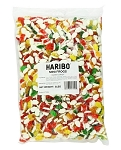 Haribo Mini Rainbow Frogs, 5 Pound Bag