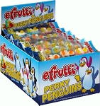 E-Frutti Perky Penguins Gummy Candy, (Pack of 80)