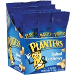 Planters Salted Cashews 1.5 Ounce bags (Pack of 18)