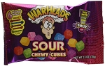 Warheads Chewy Cubes 2.5 Ounce Bags (Pack of 15)