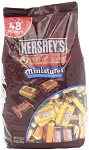 Hershey Assorted Dark Miniatures, 48 Ounces