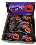 Snickers Halloween Pumpkins (Pack of 24)