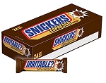 Snickers Espresso Chocolate Bar, (Pack of 24)