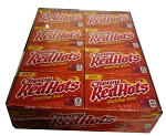 Chewy Red Hots Sizzling Sour Candy, (Pack of 24)