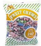 Albert's Assorted Fruit Chews (Pack of 240)