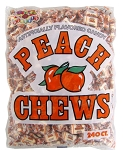 Albert's Peach Fruit Chews (Pack of 240)