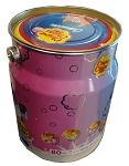 Chupa Chups Cremosa Lollipops Nostalgia Tin, (Pack of 80)