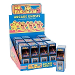 Ms. Pacman Arcade Ghosts Blue Raspberry Candies (Pack of 12)