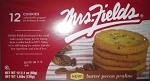 Mrs Fields Butter Pecan Praline Cookies, (Pack of 12)