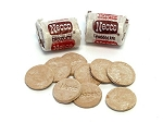 Chocolate Necco Mini Rolls Wafers 3 Pound Bag