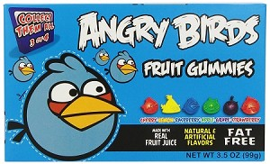 Angry Birds Blue Bird Movie Theater Size Boxes, (Pack of 12)
