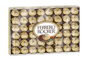 Ferrero Rocher Candy, (Pack of 48)
