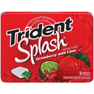 Trident Strawberry Lime (10 Pack)