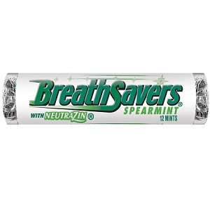 Breath Savers Spearmint Mints, (Pack of 24)