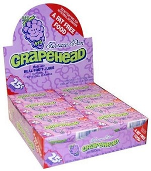 Ferrara Pan Grapehead Candy, (Pack of 24)
