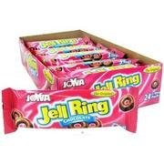 Joyva Chocolate Covered Jells 3 Packs, (Pack of 24)