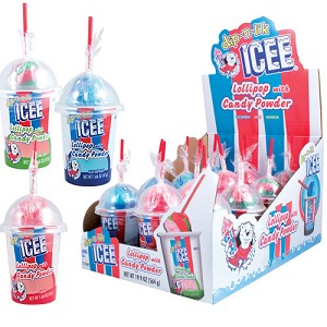 Icee Dip N Lik Candy (Pack of 12)