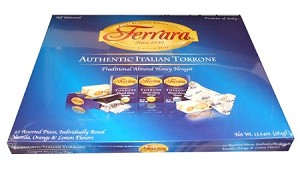Chocolate Torrone, an easy Italian Christmas candy, creamy ... |Torrone Italian Candy With Fruit